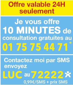 tchat gratuit offre valable 24h seulement je vous offre 10 minutes de consultation gratuites au 01 75 - Tchat Gratui